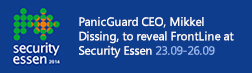 PanicGuard at Security Essen